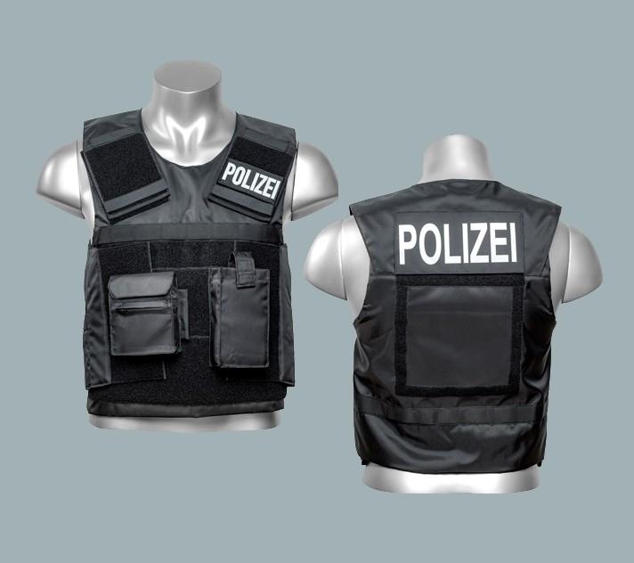 Schutzwesten / taktische Hüllen für Poilizei und Militär