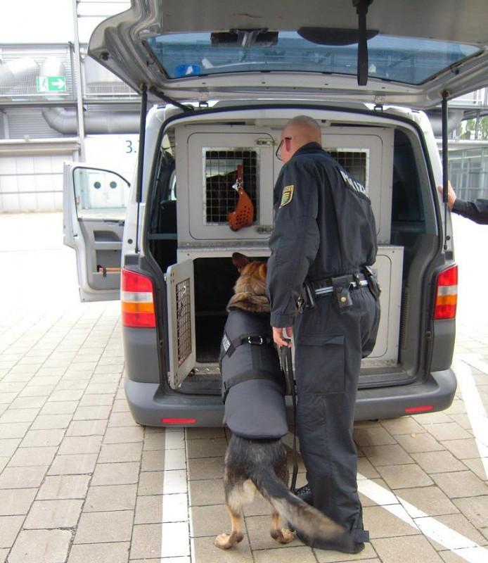 Dop Protection im Einsatz bei der Polizei
